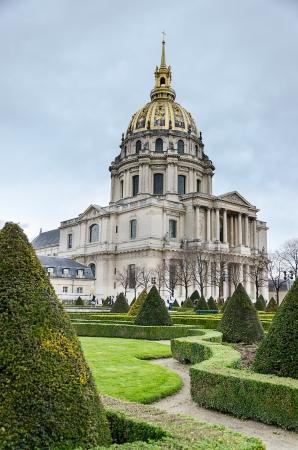 sphincter: PARIS, FRANCE - APRIL 10  The Dome Cathedral, Les Invalides, Paris Editorial