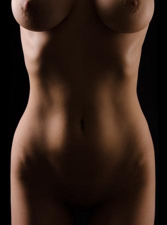 naked female body: naked female body close up