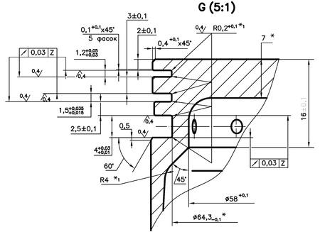 存在しない内燃エンジン (ピストン) の設計図面クリッピング パス