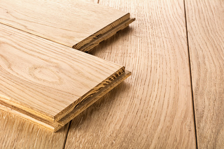 laminate flooring: Wood parquet pieces , board for flooring