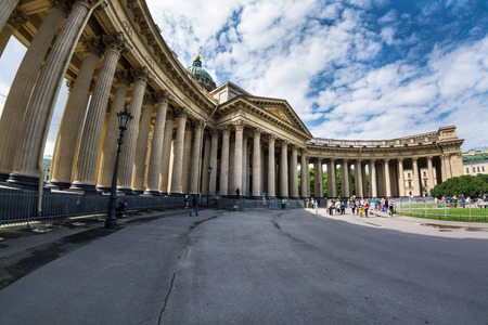 sobor: ST. PETERSBURG, RUSSIA - JULY 13, 2016: Kazan Cathedral in St.Petersburg, Russia