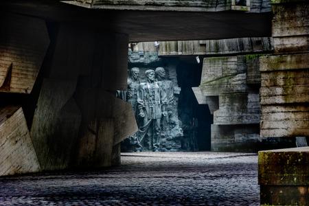 heroism: a fragment of the memorial dedicated to the heroism in World War II. Kiev, Ukraine.