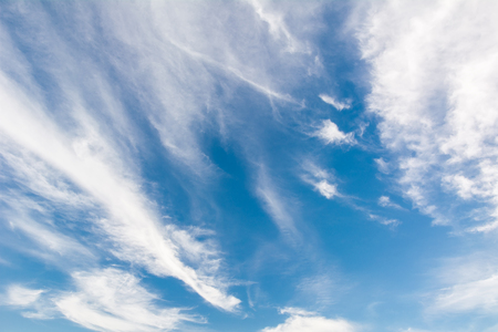 The atmosphere, great beauty sky Stock Photo