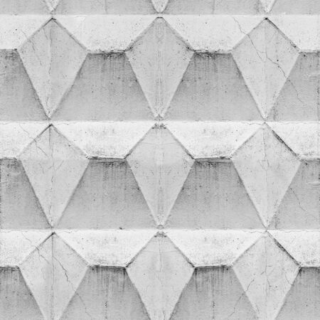 Concrete geometric structure as a seamless pattern