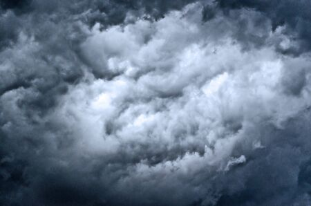 upcoming storm with dramtic sky