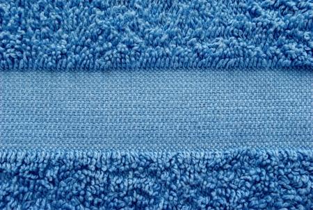 toalla: toalla azul como fondo para su mensaje