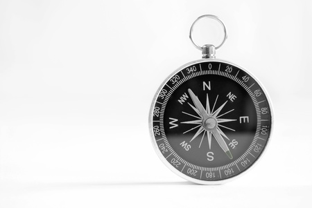 azimuth: compass to determine the path and navigation.