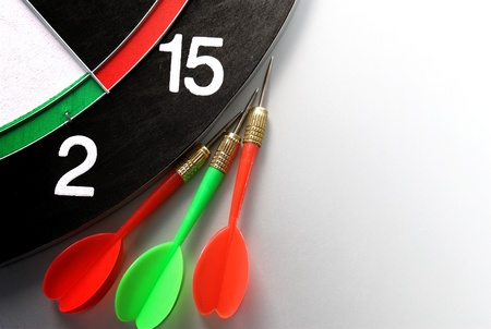 arrows and darts target the exact game photo