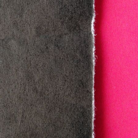 proportion: background torn black and red paper Stock Photo