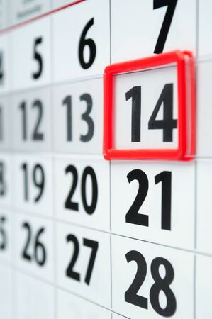 annual events: page is marked with a date calendar