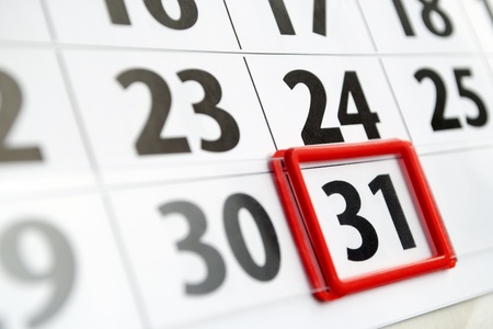 marked: page is marked with a date calendar