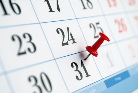 appointed: page is marked with a date calendar
