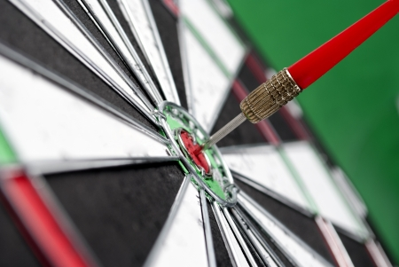 darts arrows in the target center Stock Photo - 17163607