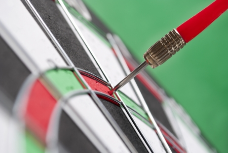 darts arrows in the target center Stock Photo - 17163579