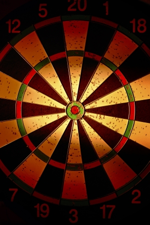 target for darts with creative lighting Stock Photo - 17467120