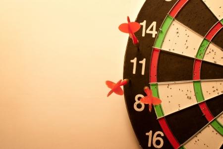 darts arrows missed their target