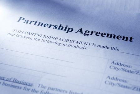 emphasizing: Conceptual Partnership Agreement Paper, Emphasizing the Heading Part.