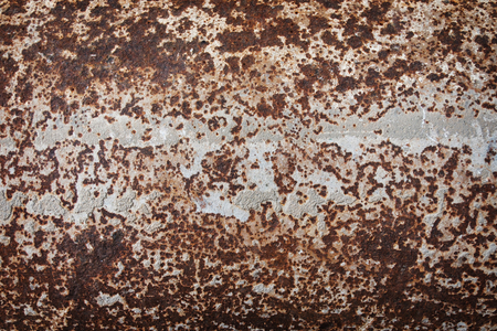 dirty: Rusty metal background with severe corrosion and damage Stock Photo