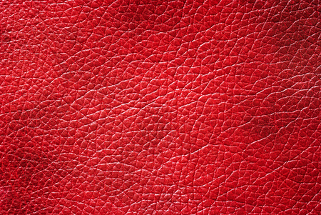 Leather red background with excellent texture for design Stock Photo