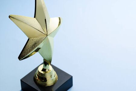 Gold Star Award for Excellence on a Podium