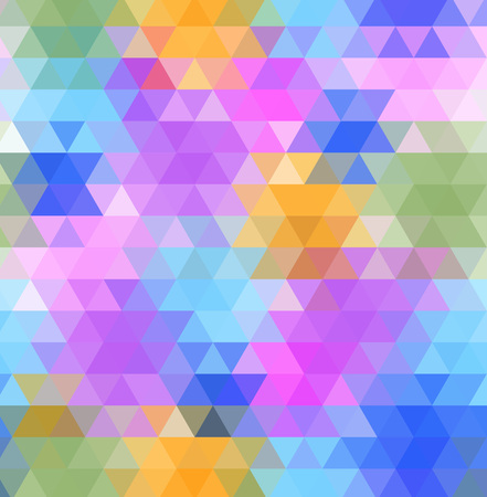 triangle shaped: Abstract multicolored polygon, low polygon background. Transfusion of color. All the colors of the rainbow. Multicolor.