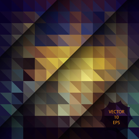 Polygon shapes background, low ply triangles mosaic, vector design, creative background, templates design.