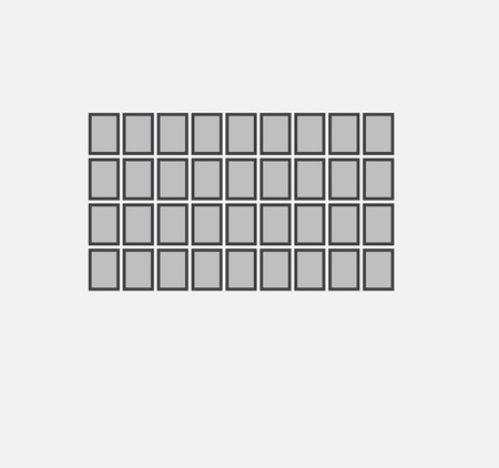 lege fotolijst ingesteld op de muur. ontwerp voor moderne interieur vectorillustratie. Fotolijst vector. Fotokunstgalerie