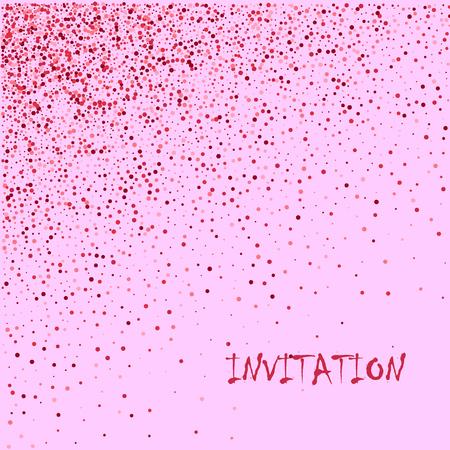 Rose gold glitter, Defocused abstract holidays lights on background. Vektorové ilustrace