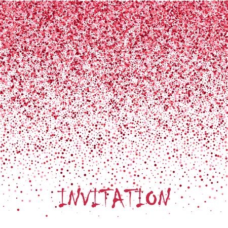 Rose gold glitter, Defocused abstract holidays lights on background. Template brochure design. Illustration