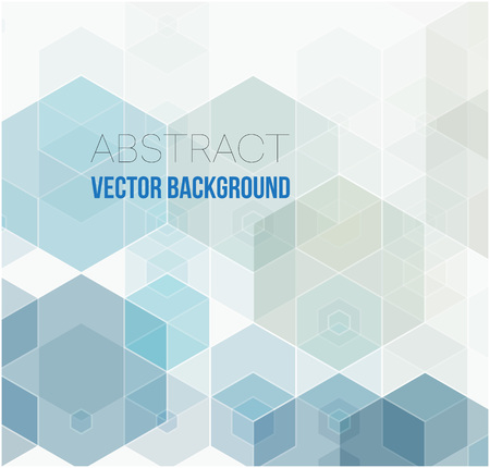 Vector Abstract geometric background. Template brochure design. Çizim