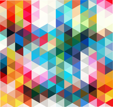 Multi-color geometric triangular low poly low poly style. Gradient background. Çizim