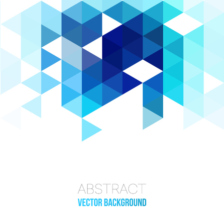 Vector Abstract geometric background with triangles. Vector illustration for your web design, desktop wallpaper or website.