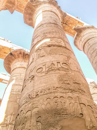 Luxor monuments and colomns Reklamní fotografie
