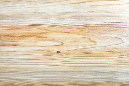 Close-up bright wood texture with long horizontal fibers , high resolution picture of blank space. Banco de Imagens