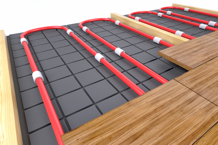 pipes for floor heating