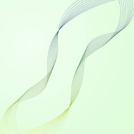 wavy lines: Abstract wavy lines