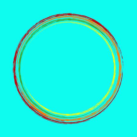 circles: Abstract circles Illustration