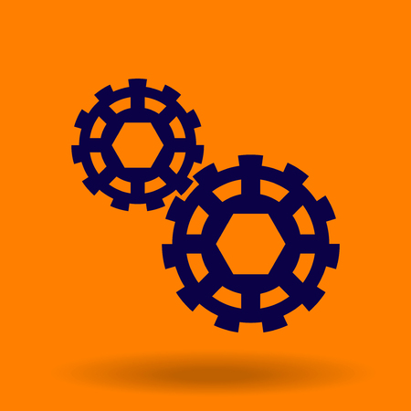 gearing: Abstract gears Illustration