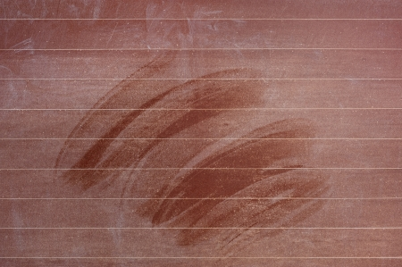 Blank chalkboard, blackboard texture with copy space photo