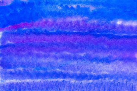 child s:  Abstraction child s drawing watercolor