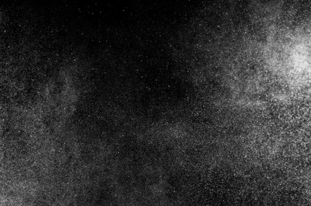 splash: Abstract splashes of water on a black background Stock Photo