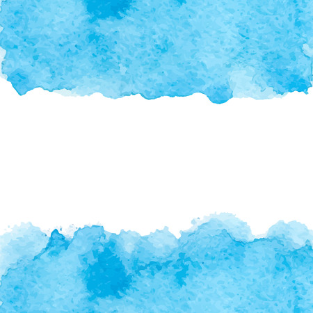 Vector abstract colored watercolor background. Design template with place for your text. 矢量图像