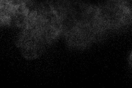 water spray: abstract splashes of water on a black background. abstract water spray. abstract rain. design elements. abstract texture. Stock Photo