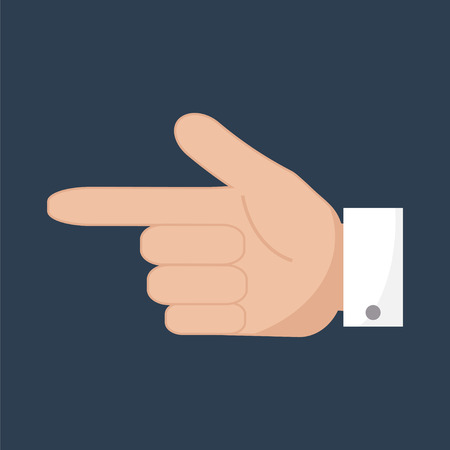 forefinger: Forefinger pointer icon