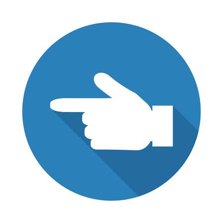 forefinger: Forefinger pointer icon