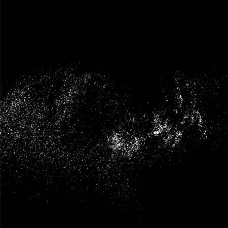 grainy: Grainy abstract  texture on a black background. Design element. Vector illustration,eps 10.