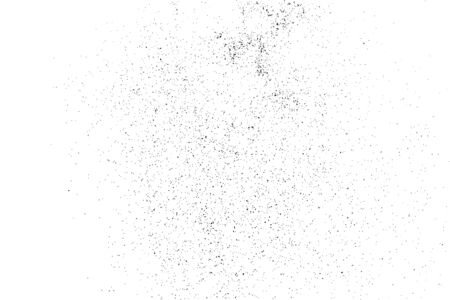 black textured background: Grainy abstract  texture on a white background. Design element. Vector illustration,eps 10.