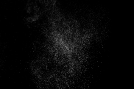 background waterfalls: abstract splashes of water on a black background. abstract spray of water. abstract rain. shower water drops. abstract texture. Stock Photo