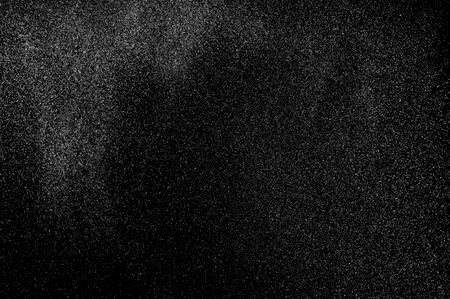 flux: abstract splashes of water on a black background Stock Photo