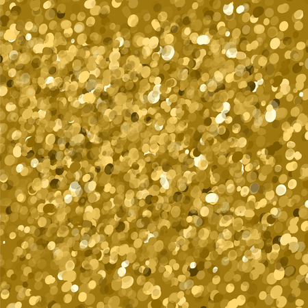 holiday light: Gold glitter texture